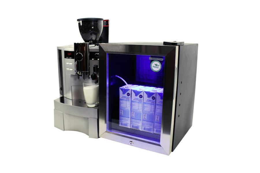 Mini Kühlschrank Abschließbar : Milchkühlschrank für kaffeevollautomaten milch kühler 22l