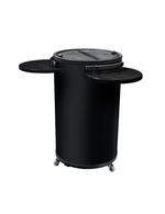 Kühltonne/Werbekühlschrank rund & schwarz