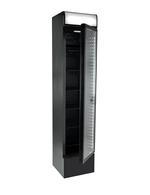 Werbedisplay Kühlschrank schwarz