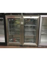 Kühltheke / Untertheken-Kühlschrank - Flügeltür - INOX - GCUC200