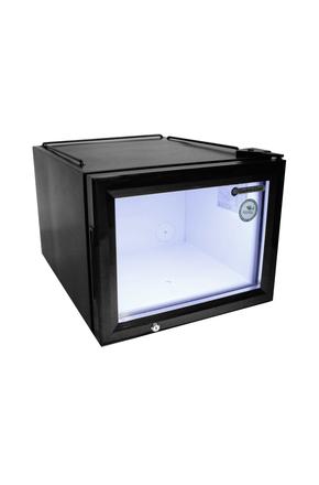 Flacher Glastürkühlschrank für den Impulskauf