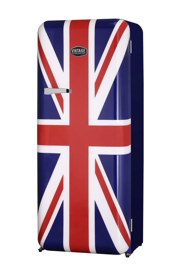 retro k hlschrank havanna im union jack design virc330 gastro cool g nstig k hlen. Black Bedroom Furniture Sets. Home Design Ideas