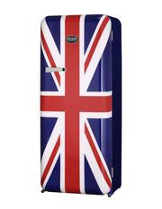 Retro Kühlschrank mit britischen Flaggen Design von Vintage Industries