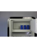 Exemplarisches Detailbild für das Eisfach vom Retro-Kühlschrank