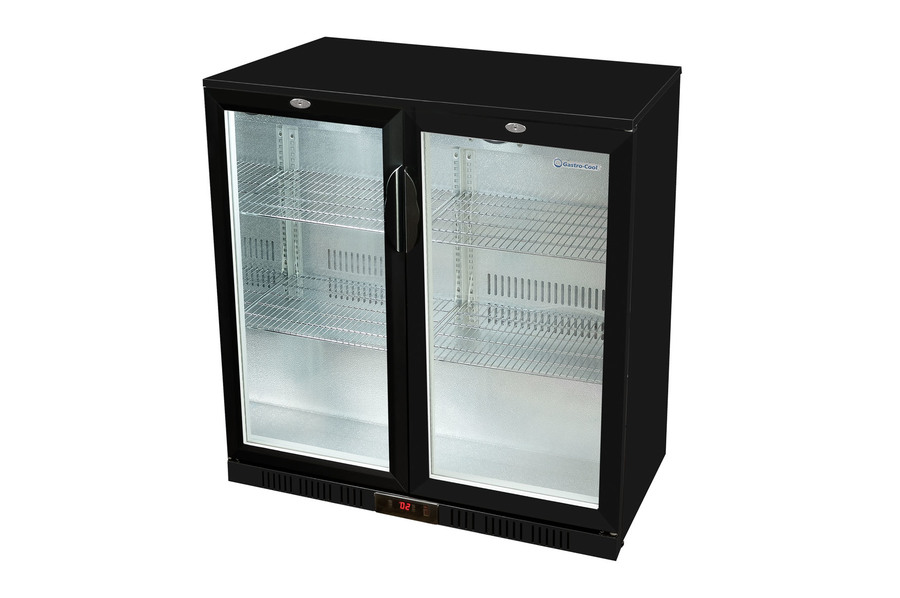 Kleiner Kühlschrank Günstig Kaufen : Sonderposten untertheken flaschenkühlschrank schwarz