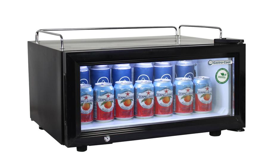 Minibar Kühlschrank Abschließbar : Cm flacher getränkekühlschrank für den impulskauf gcgd