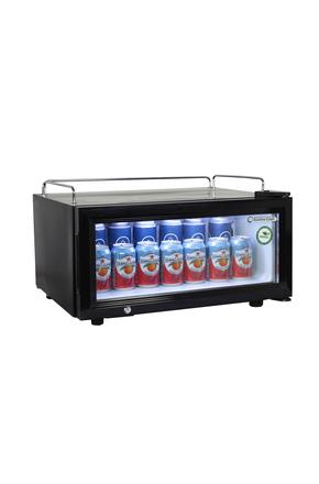 Glastürkühlschrank flach für POS