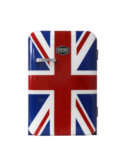 Retro-Kühlschrank Kingston im Union Jack Design
