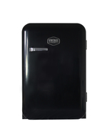 Schwarzer Retro-Kühlschrank Kingston