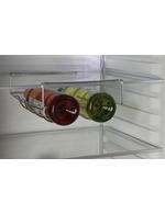 Kingston Retro-Kühlschrank - befülltes Weinregal