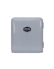 Kleiner Retro Kühlschrank Silber