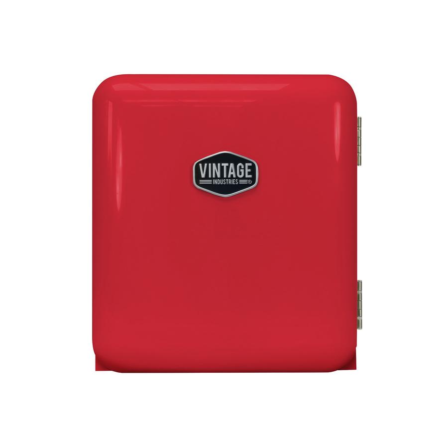 Roter Mini Retro Kühlschrank - Miami - VIRC60 – Gastro-Cool ...