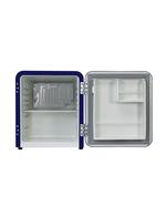 Innenraum vom Mini Retro Kühlschrank im Union Jack Design