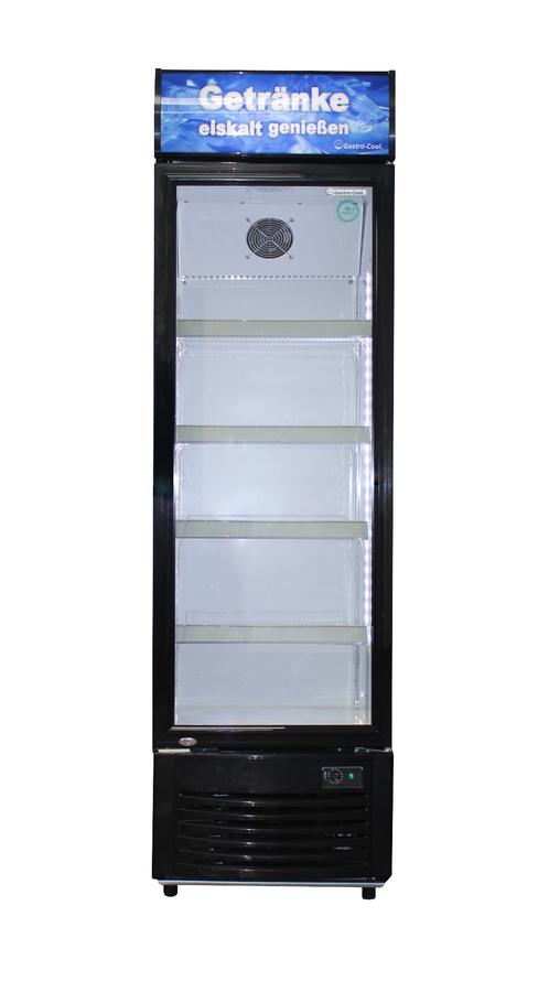 Getränkekühlschrank mit Werbedisplay - DC280 – Gastro-Cool – Günstig ...