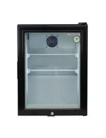 schwarzer mini gefrierschrank mit glast r gcgw50 gastro cool g nstig k hlen. Black Bedroom Furniture Sets. Home Design Ideas