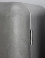 Türscharnier des Retro-Kühlschranks