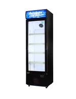 Glastürkühlschrank für die Getränkekühlung - groß