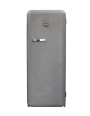 Sonderedition - Retro-Kühlschrank Beton - Banksy - VIRC330