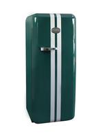 Britische Eleganz trifft auf Retro-Kühlschrank
