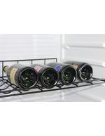Weinregal für Glastürkühlschrank GCDC400