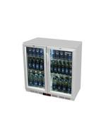 Unterthekenkühlschrank silber 208 Liter