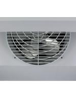 Detailbild Ventilator der Glastürgefrierschranks mit Werbedisplay