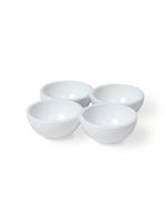 Vintage Industries - 3 weiße Eierhalter für den Kühlschrank