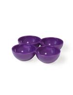 Vintage Industries - 3 ultra violette Eierhalter für den Kühlschrank