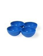Vintage Industries - 3 blaue Eierhalter für den Kühlschrank