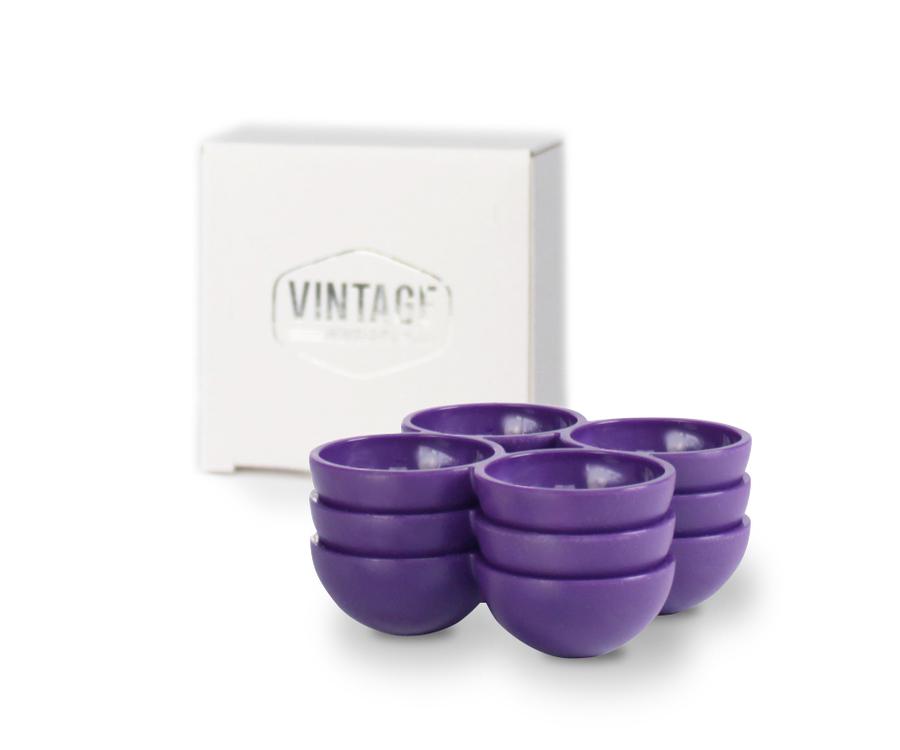 Retro Kühlschrank Violett : Vintage industries ultra violette eierhalter für den