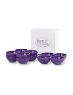 Eierhalter / Eierbecher Set von Vintage Industries in ultra violet