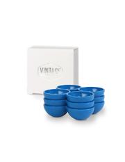 Set - 3 blaue  Eierhalter für den Kühlschrank - Vintage Industries