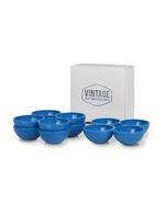 Blauer Eierhalter / Eierbecher im Set - Vintage Industries