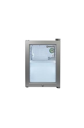 Mini-Kühlschrank / KühlWürfel - silber - GCKW25