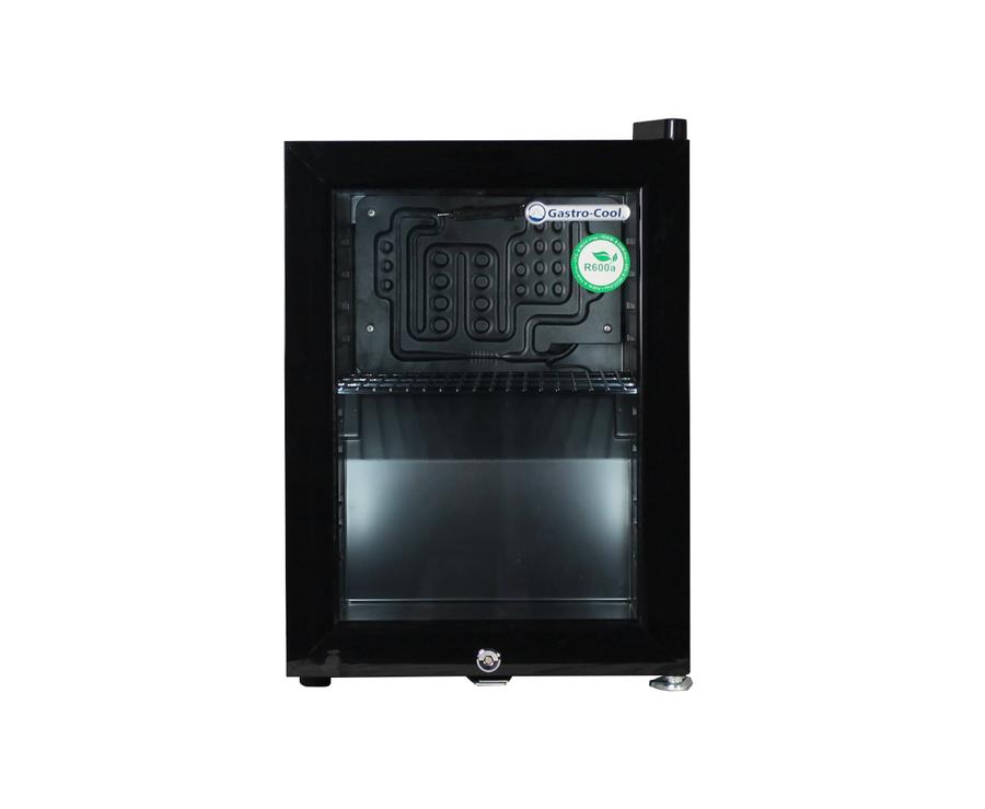 Mini Kühlschrank Beleuchtet : Thekenkühlschrank schwarz liter high performance led