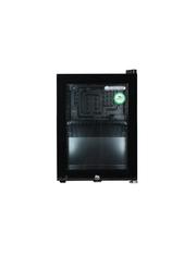 Schwarzer Thekenkühlschrank /Glastürkühlschrank mit 23 Liter Volumen