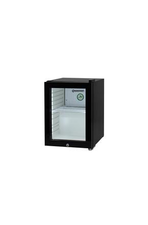Thekenkühlschrank - schwarz-weiß - 23 Liter - High-Performance-LED