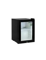 Kleiner Thekenkühlschrank mit schwarzem Gehäuse - 23 Liter