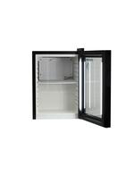 Minikühlschrank mit Glastüre und LED Beleuchtung