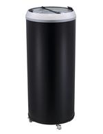 Runder Kühlschrank mit Schmuckrahen / Kühlschrank in Dosenform