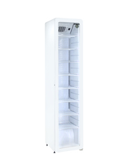 Retroslim Glastürkühlschrank weiß