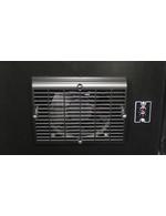 Detailbild Ventilator vom extra schmalen Glastür - Retrokühlschrank