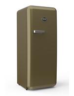 Sonderedition - Retro-Kühlschrank Gold (RAL 1036)