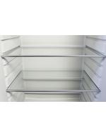 Glasregal / Glaseinlegefach vom Retro Kühlschrank europablau