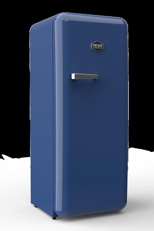 Sonderedition - Retro-Kühlschrank Europablau - VIRC330 – Gastro-Cool ...