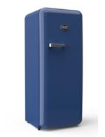 Sonderedition - Retro-Kühlschrank Europablau