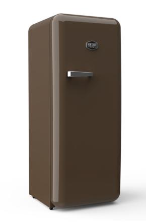 Sonderedition - Retro-Kühlschrank Kaffeebohnenbraun