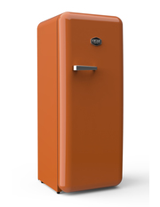 Sonderedition - Retro-Kühlschrank Tieforange - VIRC330