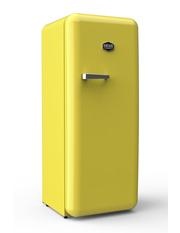 Sonderedition - Retro-Kühlschrank Schwefelgelb - VIRC330
