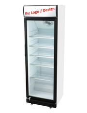 Ihr Displaykühlschrank mit individueller Leuchthaube - GCDC400